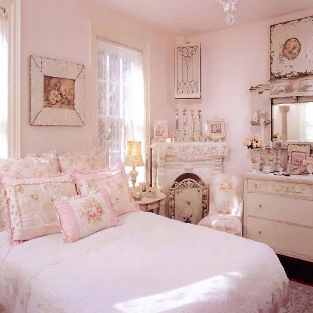 Fresh Purple Shabby Chic Bedroom Check more at http ...