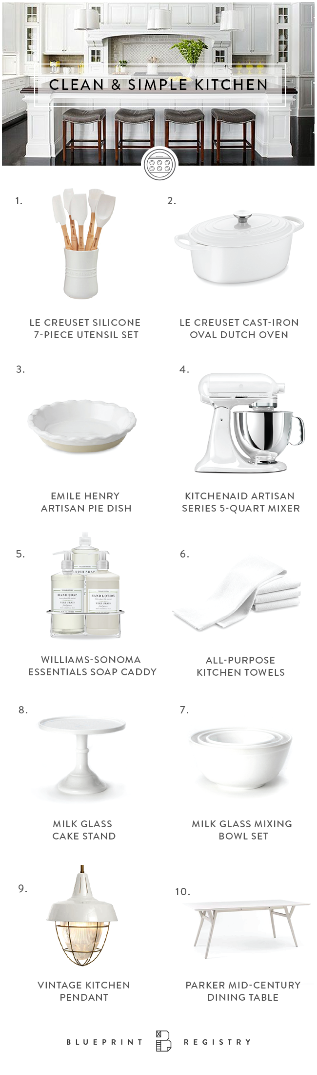 Register for refreshing finds for a bright + breezy kitchen update ...