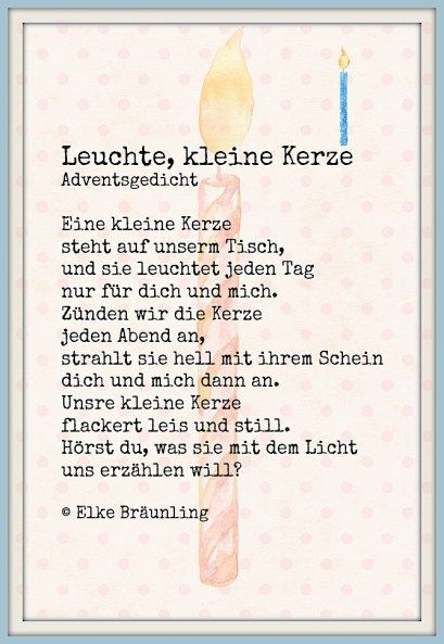 Adventszeit Gedicht