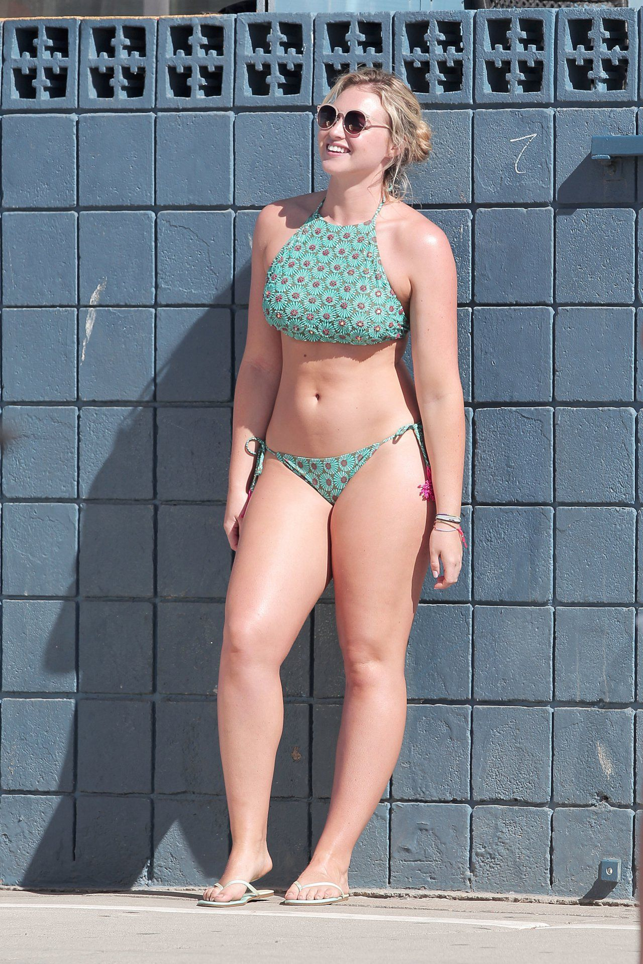 shot Bikini beach candids self