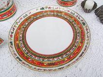 Tortenplatte Weihnachtsservice Merry Christmas