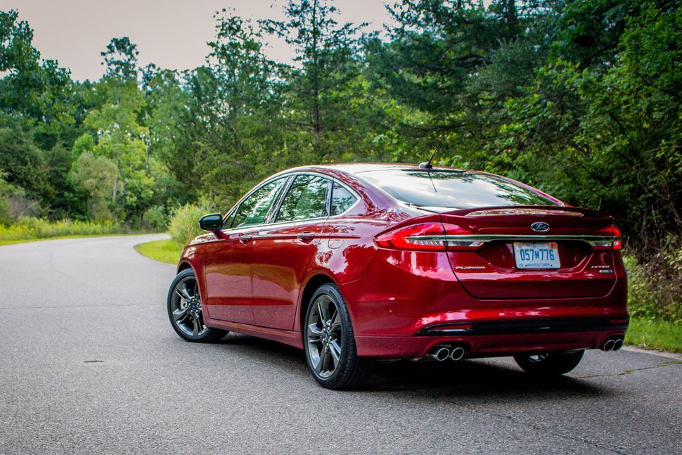 2017 Ford Fusion Sport A powerful and poised sleeper