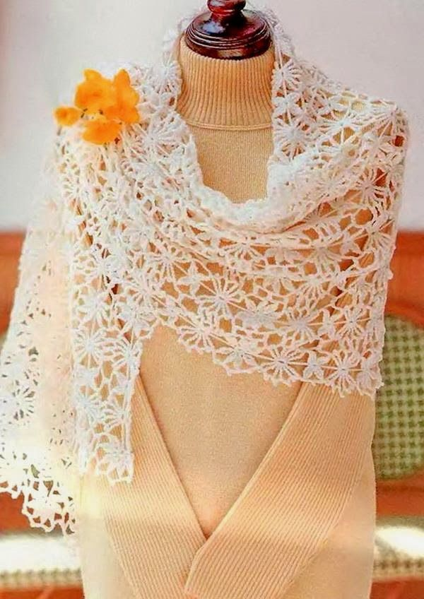 Crochet Shawls Crochet Shawl Wrap Pattern Gorgeous Crochet Lace