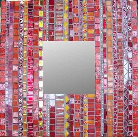 spiegel mit mosaik umgeben mosaik pinterest mosaik spiegel und mosaikspiegel. Black Bedroom Furniture Sets. Home Design Ideas