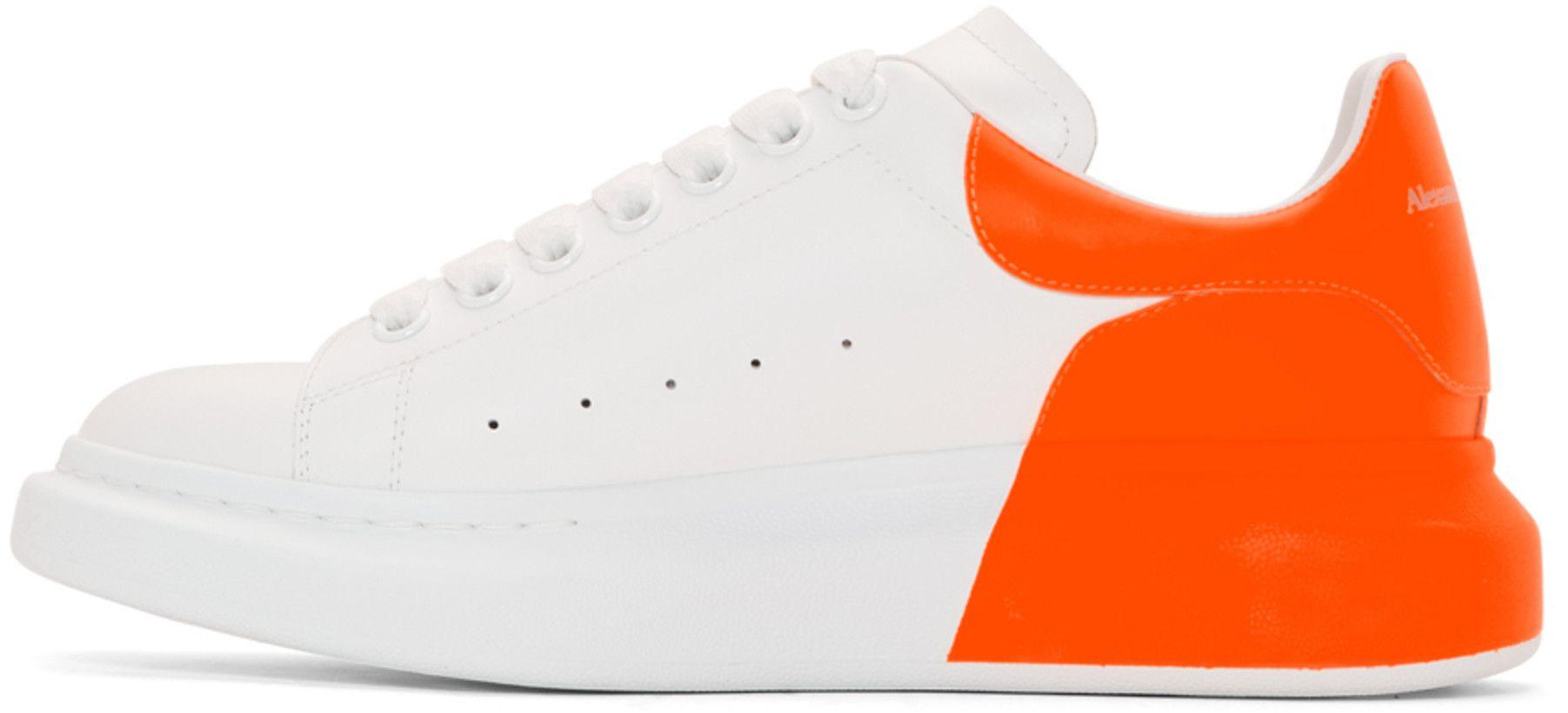 Alexander McQueen - White \u0026 Orange