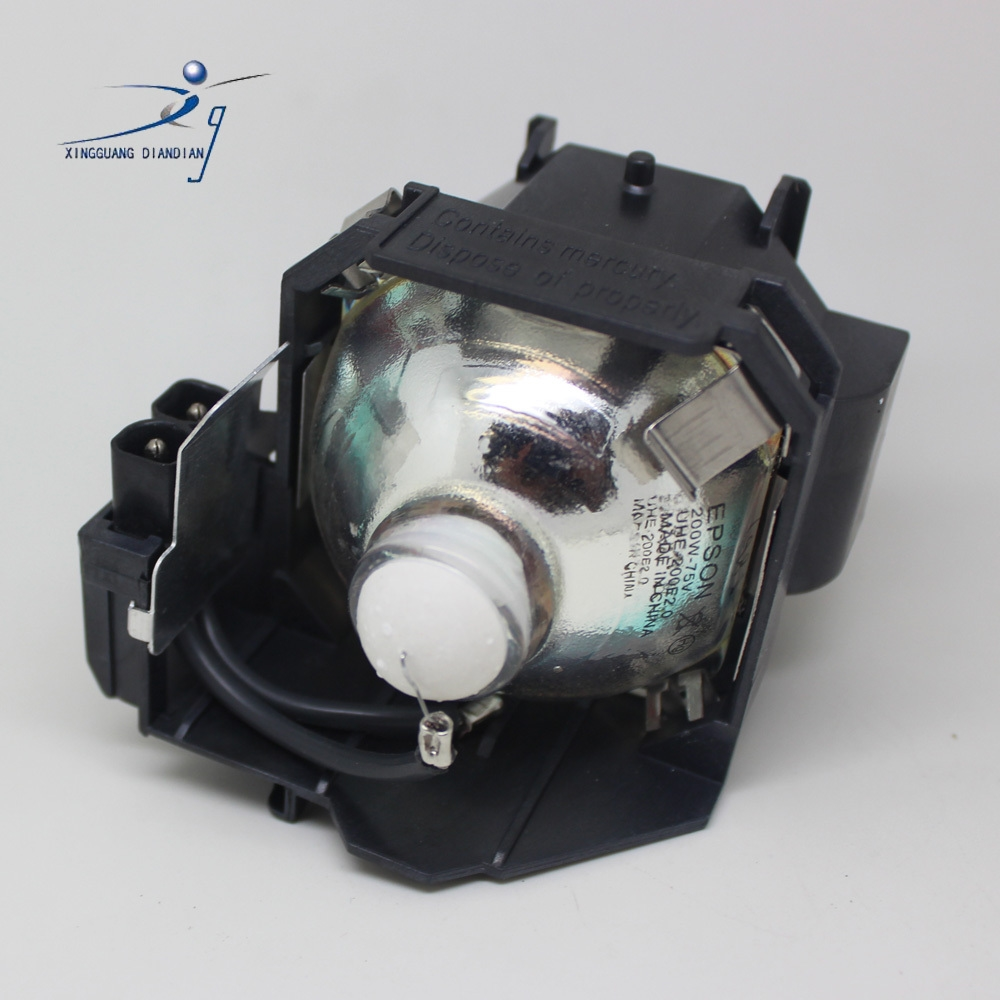 60.00$  Buy now - http://aliw0g.worldwells.pw/go.php?t=475044454 - Projector lamp ELPLP38 for Epson EMP - 1700 1705 1707 1710 1715 1717  with housing