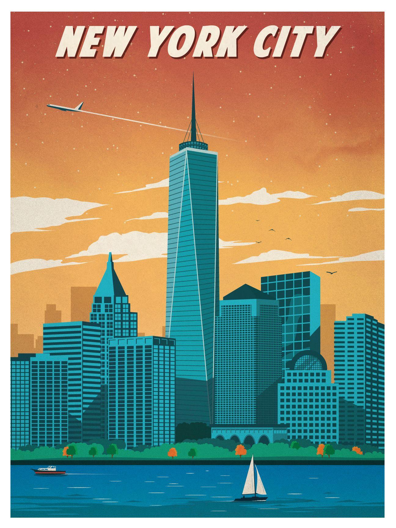 Vintage Travel Posters, Travel