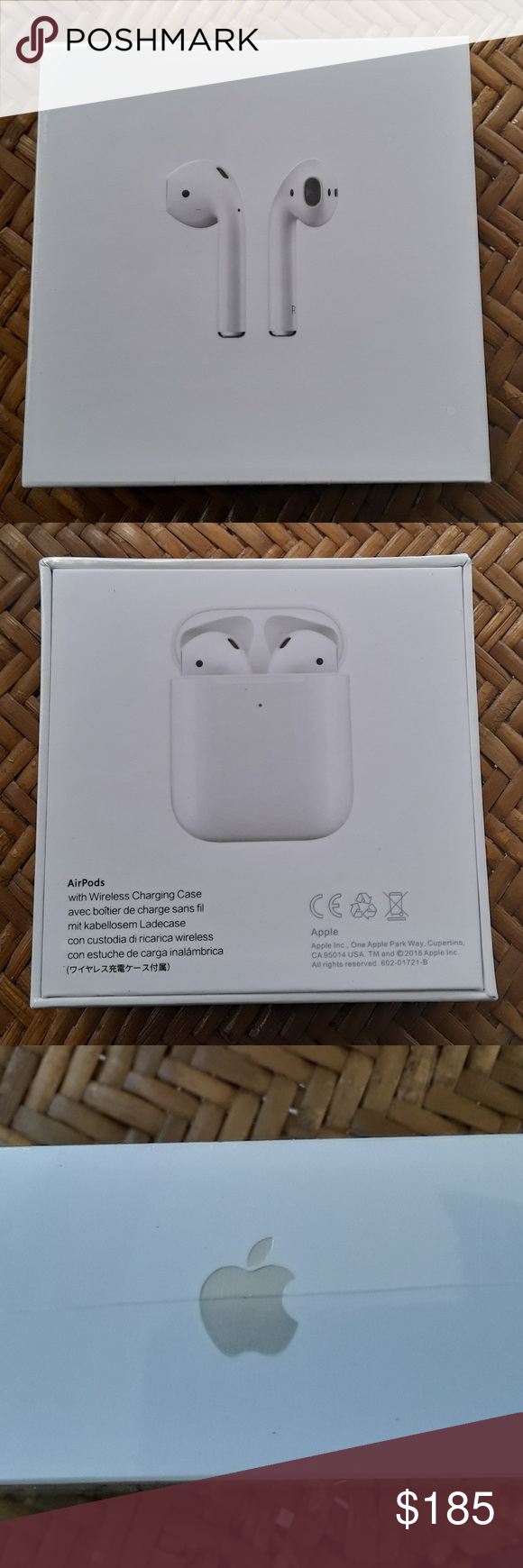 Apple Airpods Apple Airpods 2nd Generation With Wireless Charging Case White Condition Is New Accessories Apple Airpods 2 Apple Things To Sell