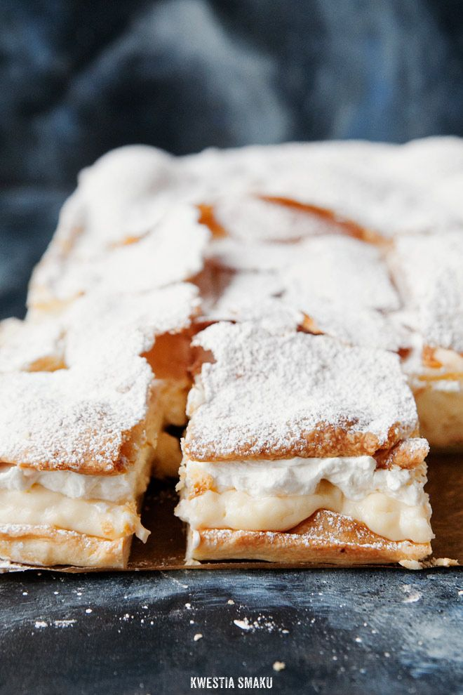 Polish Cream Cake Local Food In Poland Przepisy Desery