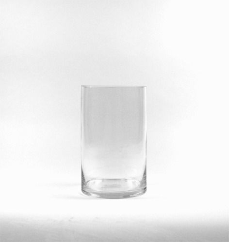 Wholesale Clear Cylinder Glass Vase With 5 Wide X 8 Tall12pcs