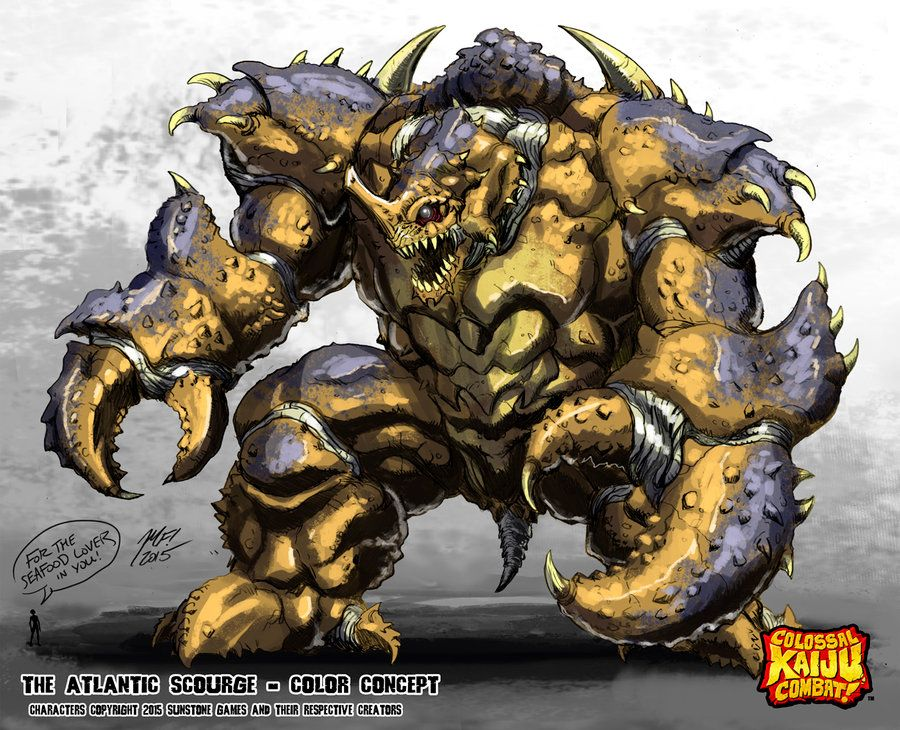 Colossal Kaiju Combat The Atlantic Scourge by