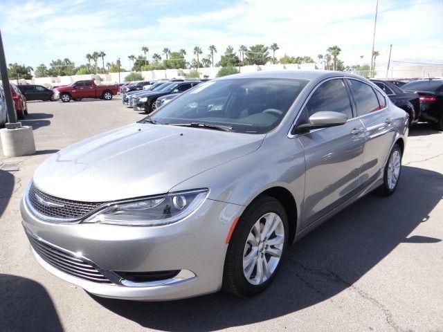 2016 Chrysler 200Limited in Billet Silver Metallic at Chapman Las Vegas