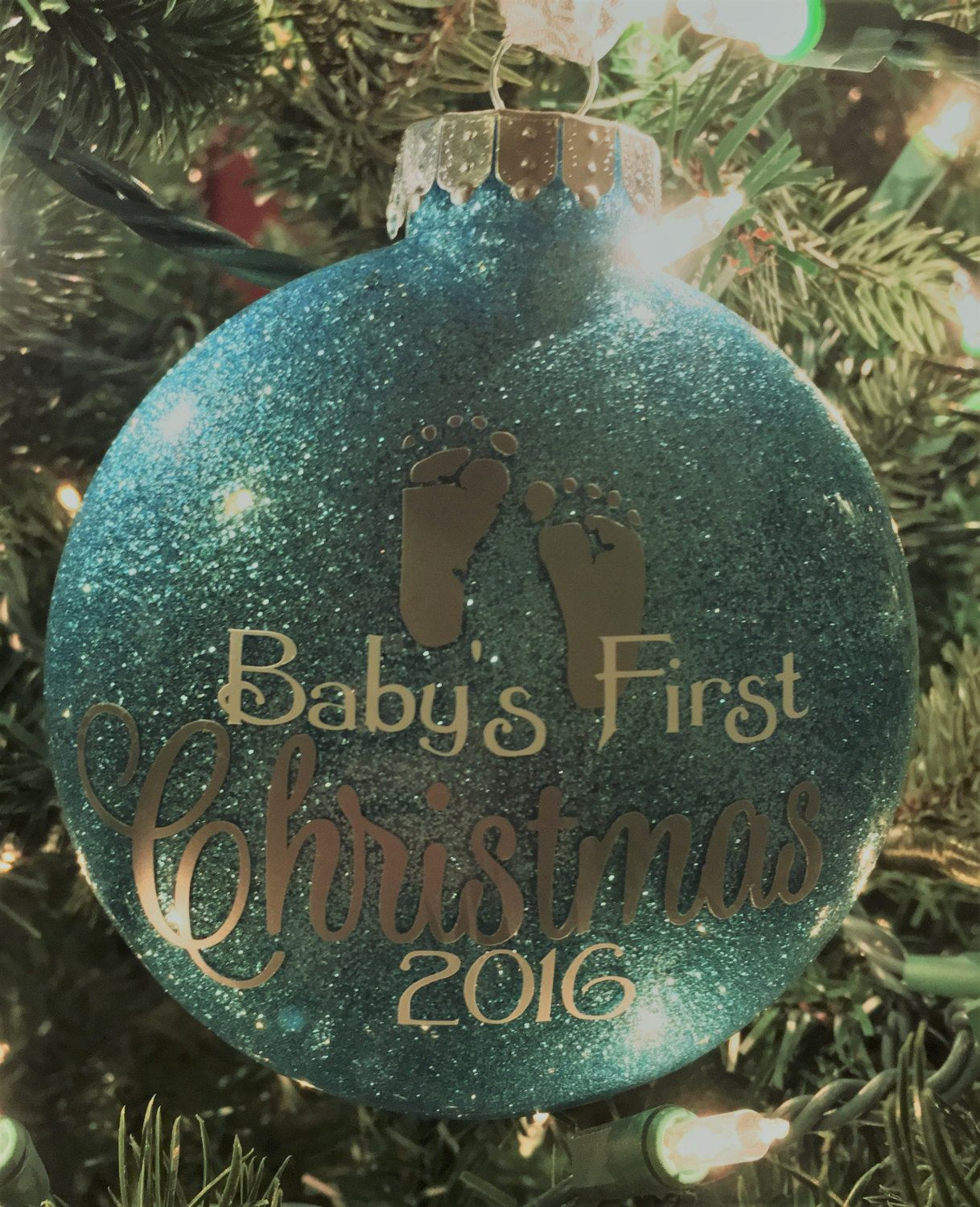 Baby S First Christmas Ornament Personalized Baby Etsy Baby First Christmas Ornament Baby Christmas Ornaments Christmas Ornaments