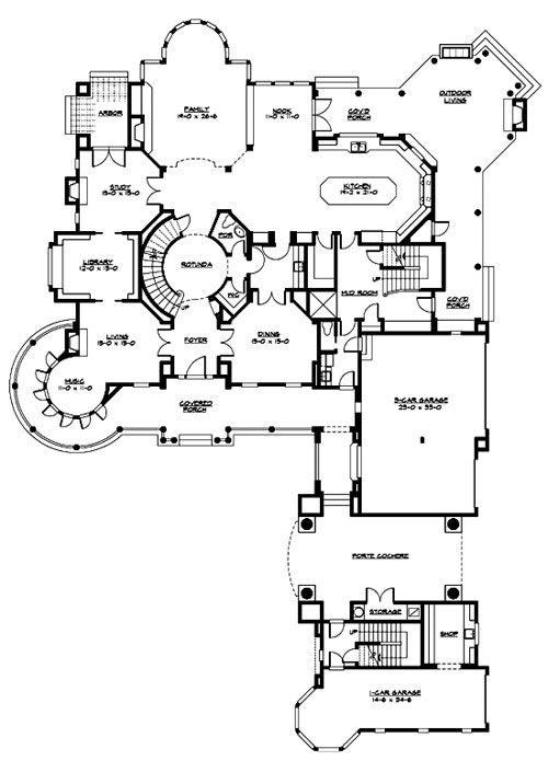 Chatham 3235 4 Bedrooms And 5 Baths The House Designers Victorian House Plans Craftsman Style House Plans Chatham House
