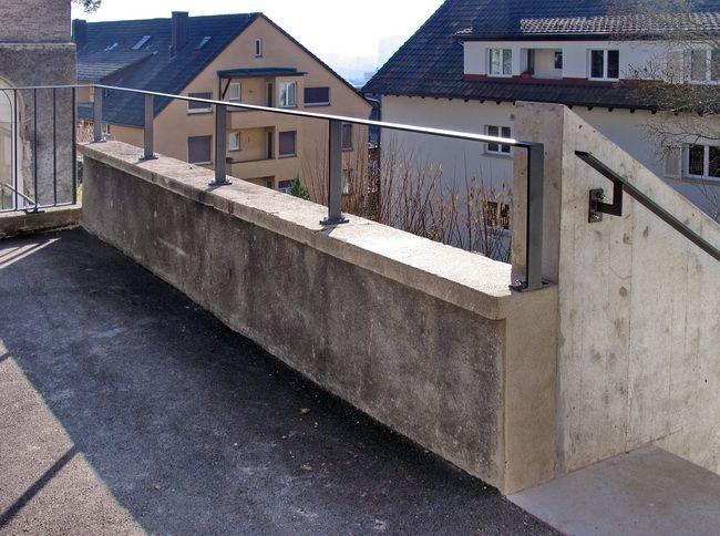 Metall Werk Zurich Ag Gelander Handlauf Und Absturzsicherung Handlauf Dachterrasse Gelander Terrassen Gelander