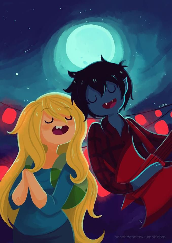 Adventure Time Fionna And Marshall Lee I Love The Song They Sing