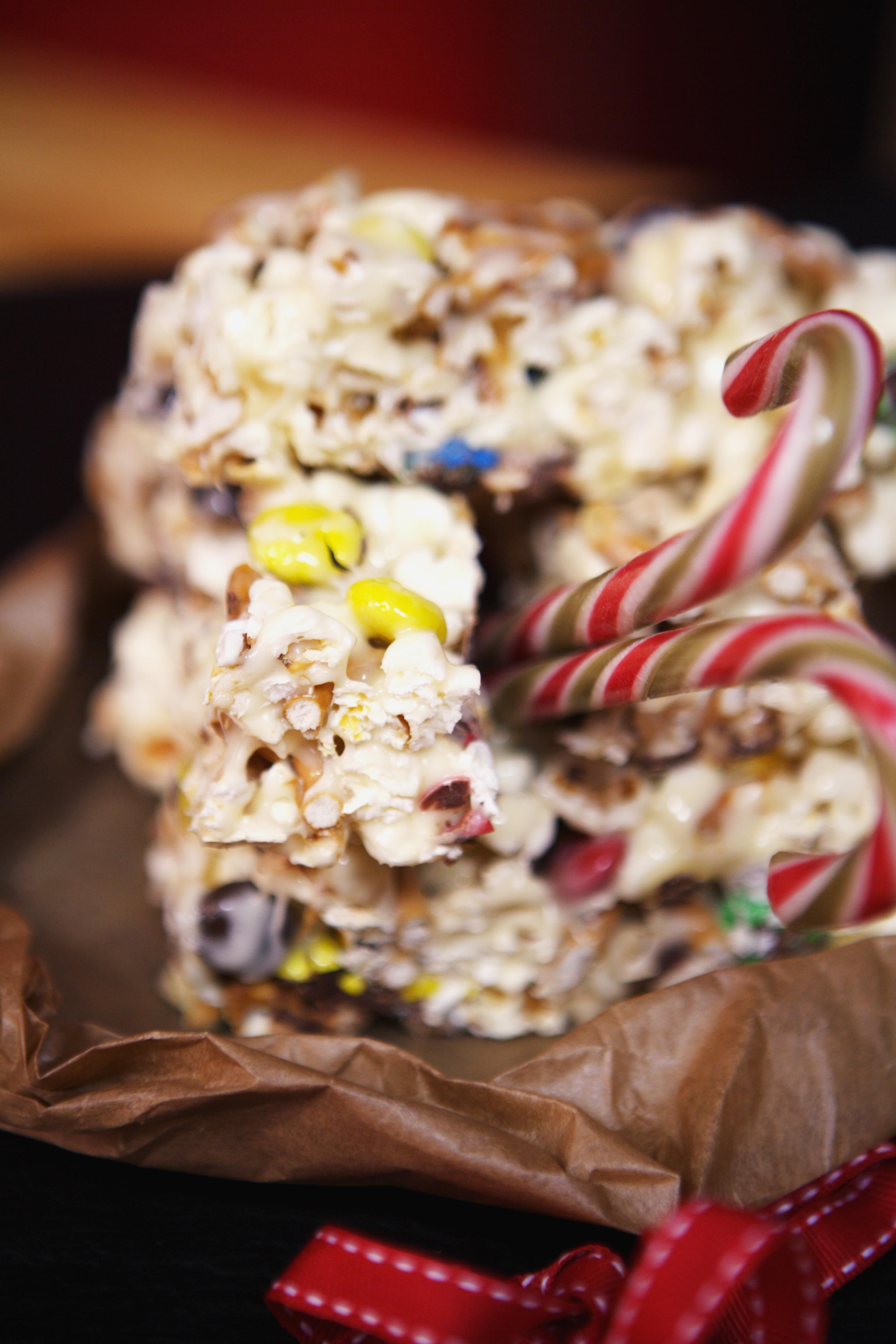 Marshmallow Popcorn bars! Perhaps the most ridiculous cinema treat ever!
