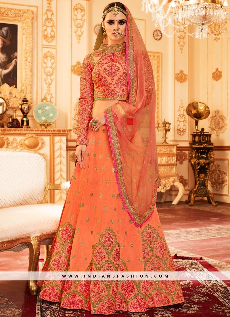 Buy online embroidery designer lehenga choli order now this