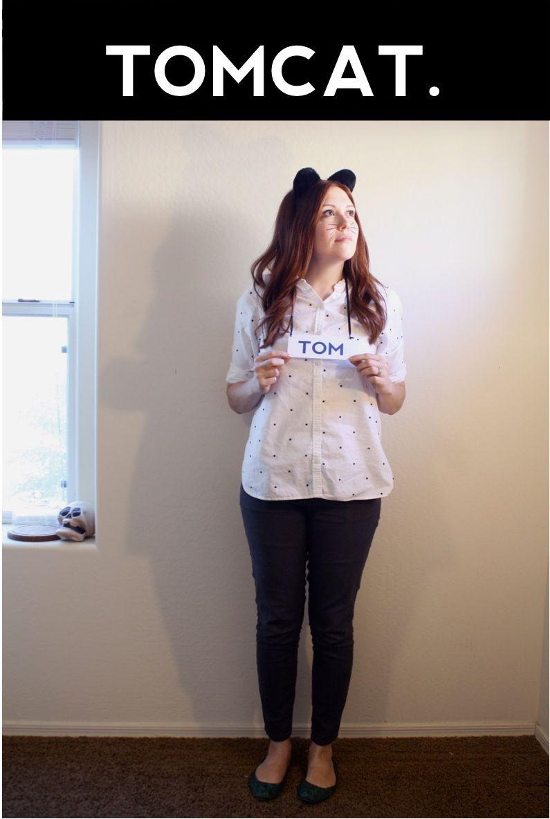 Last Minute Cat Puns Halloween Costumes Punny Halloween Costumes Clever Halloween Costumes Halloween Costume Puns
