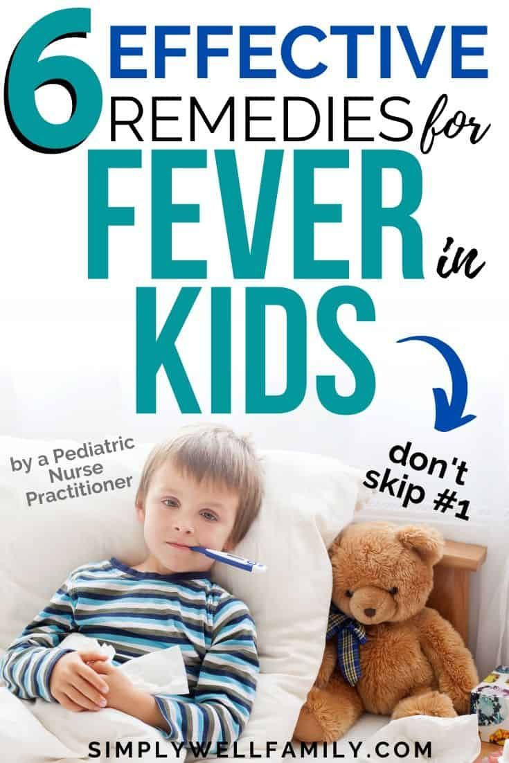 Fever in Children and How to Treat it Naturally - Simply ...