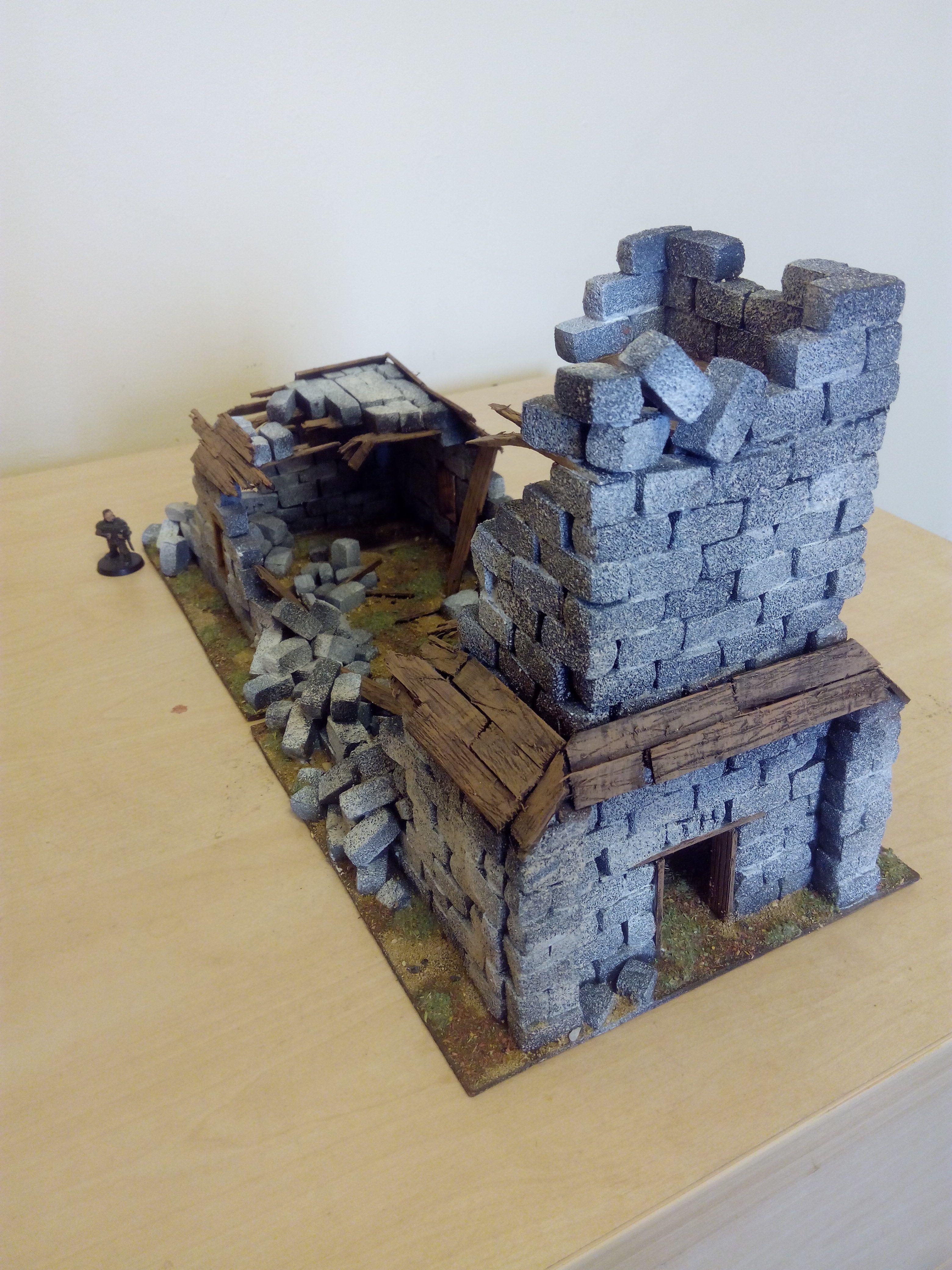 Details about Styrofoam Modelling Bricks - Wargaming Scenery