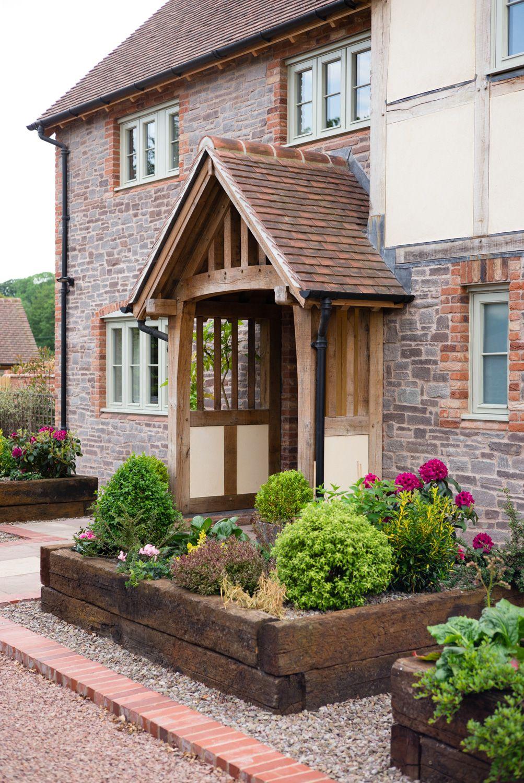Border Oak Porch On Farmhouse Porches In 2019 Porch