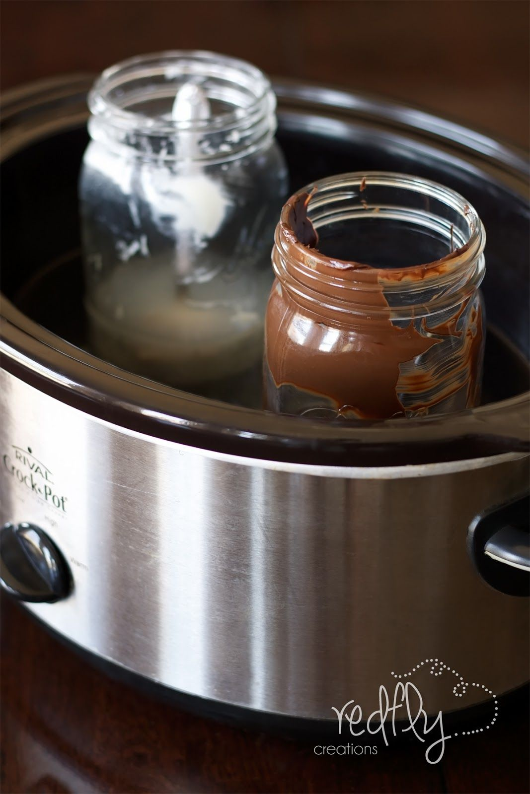 Melting Chocolate In The Slow Cooker Fill Crock Pot