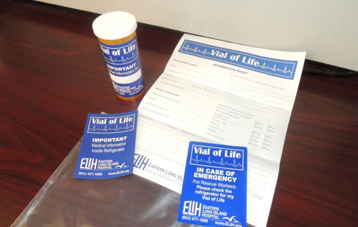 Vial of Life - Eastern Long Island Hospital