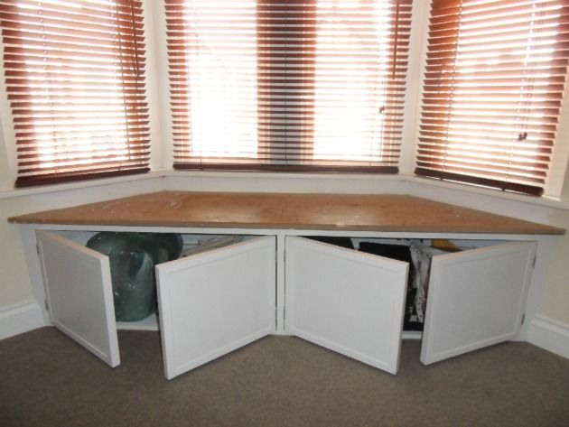 Seating For Bay Window bay window seats with storage | daniel adams carpentry & joinery
