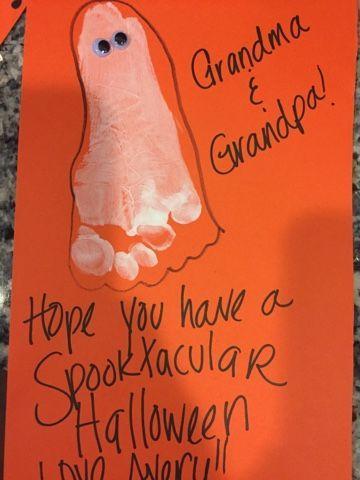 Ghost Footprint cards!