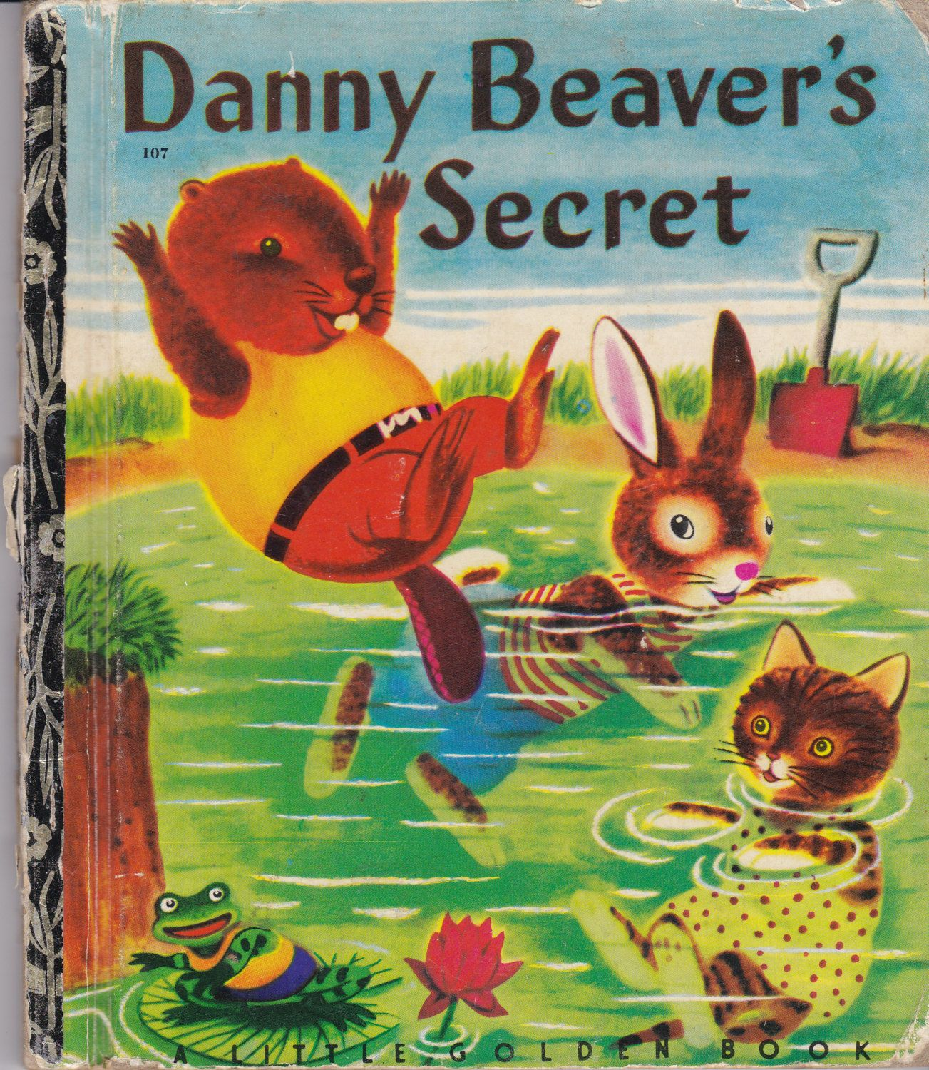 Libros Infantiles Antiguos Danny Beaver S Secret Litte Golden Books Pinterest Libro