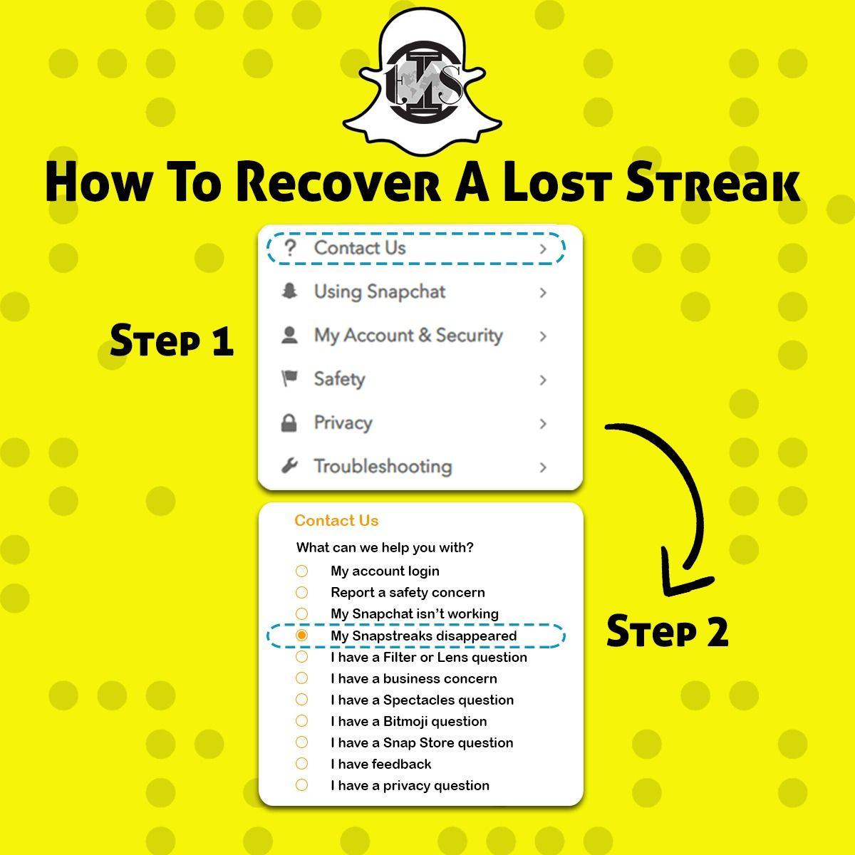 Snapchat Streak Lost Snapchat Streak Digital Marketing Company Snapchat Codes