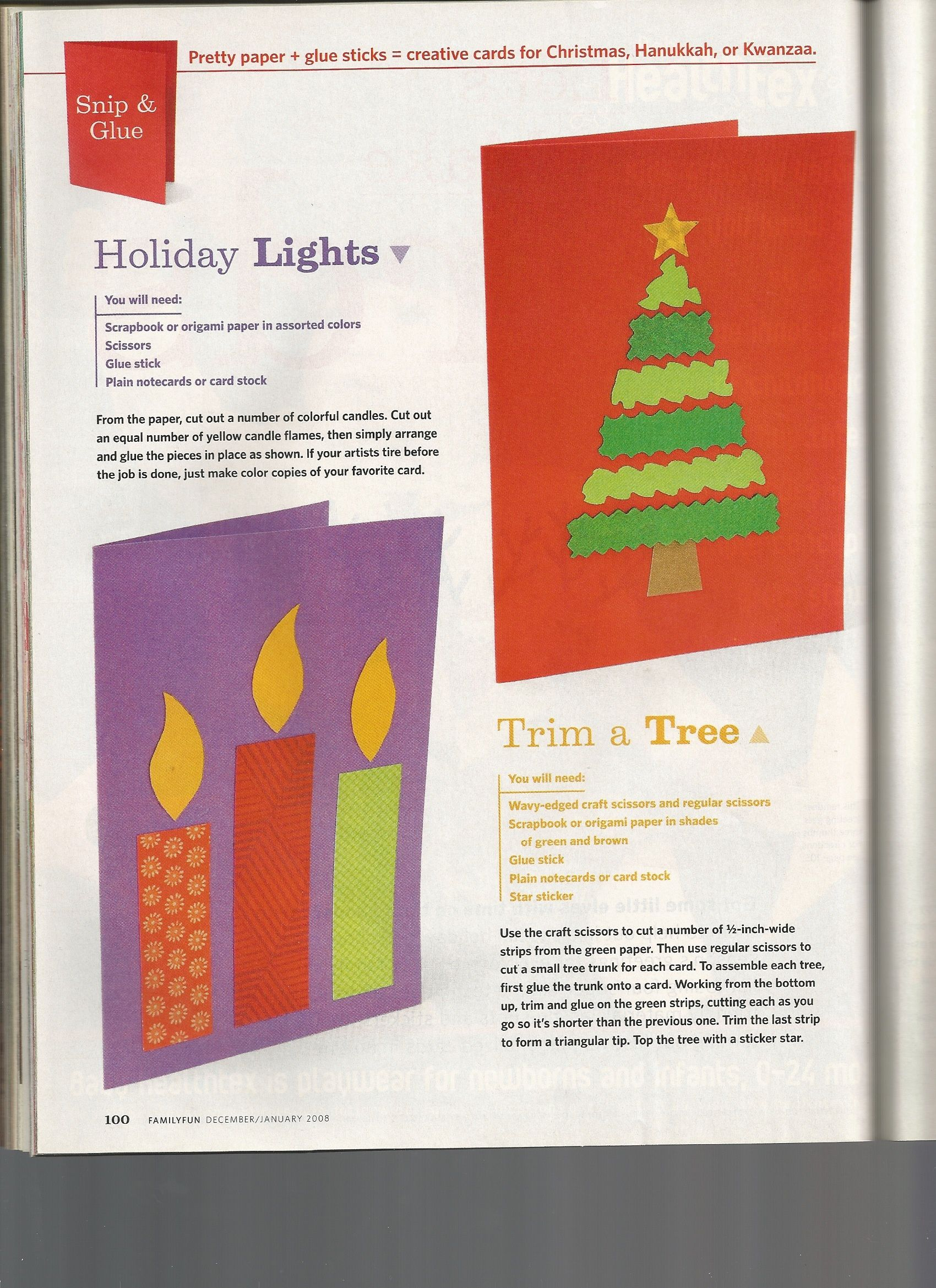 Christmas Cards Ideas 1 From Family Fun Magazine December