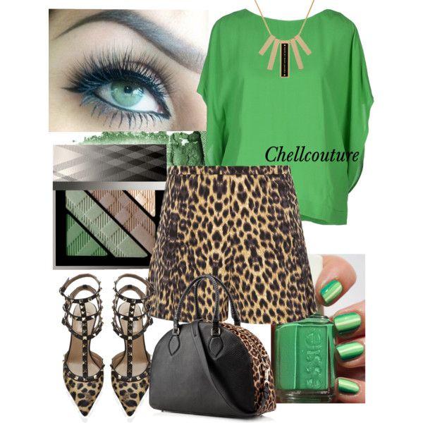 #Leopard & #emerald #fashion