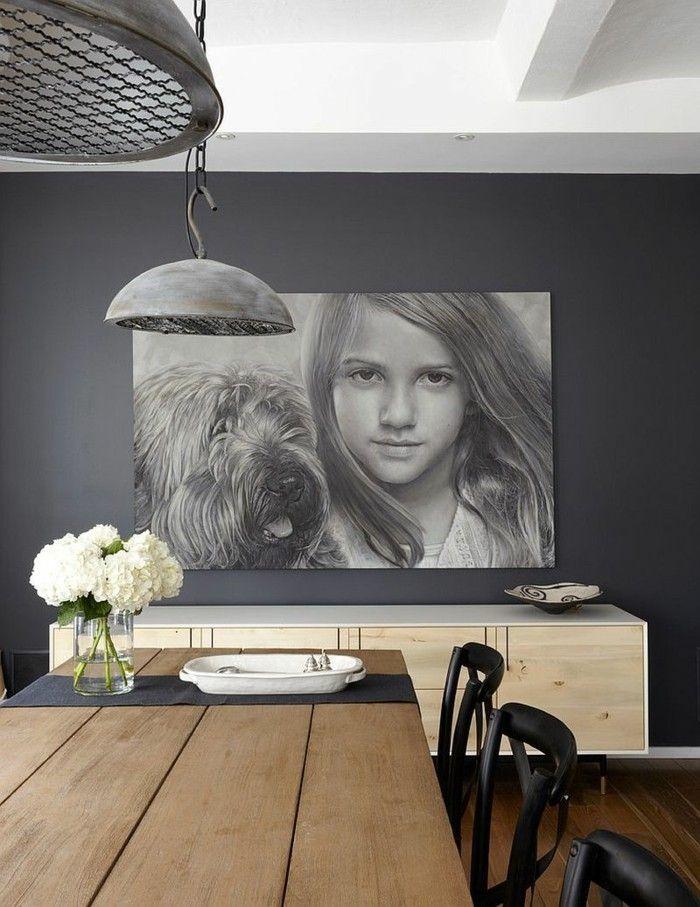 Peinture salle à manger - 77 idées charmantes Salons and Office