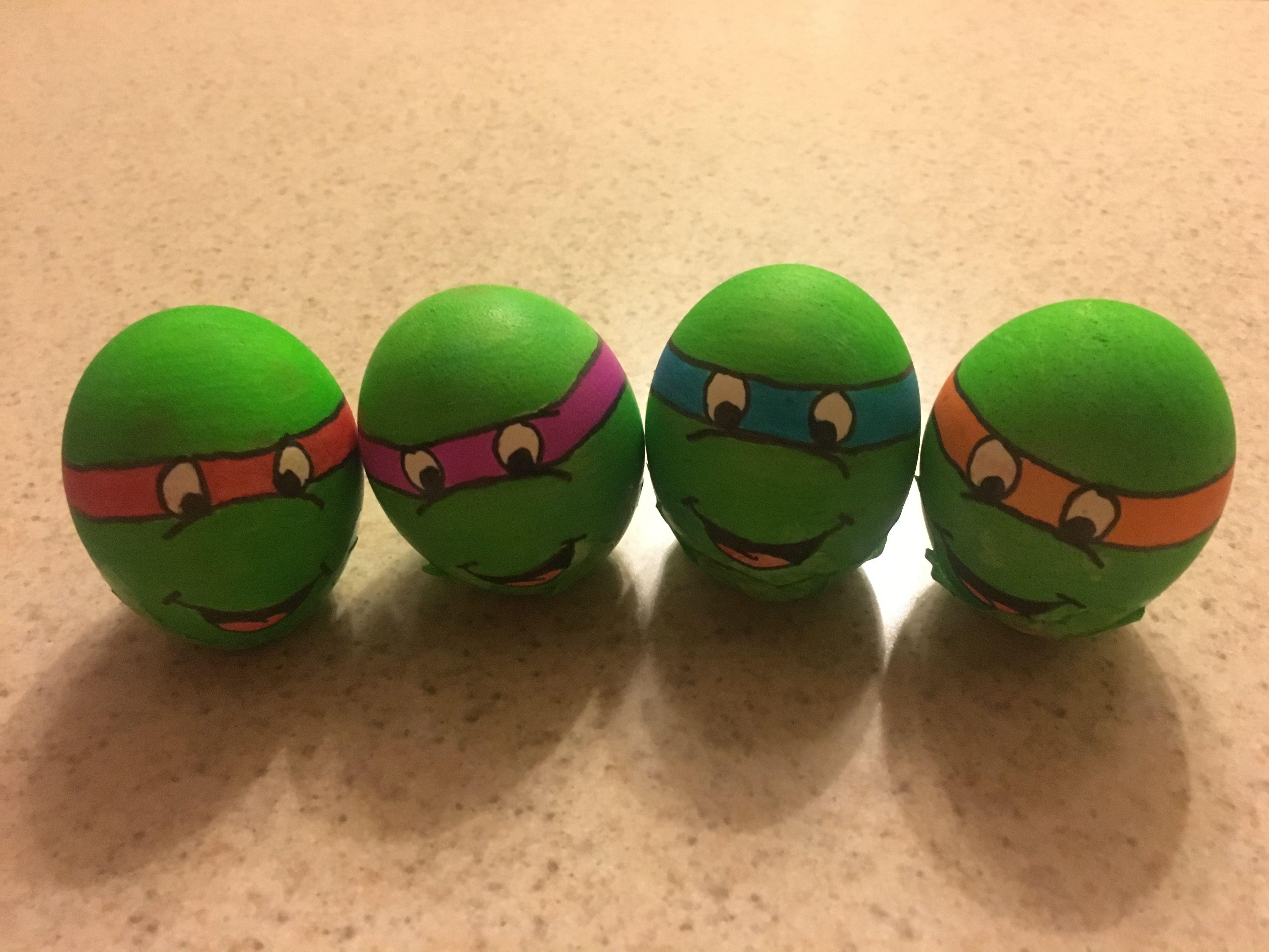 Easter Eggs Turtle Ninja Huevos De Pascua Huevos De Confeti Pascua