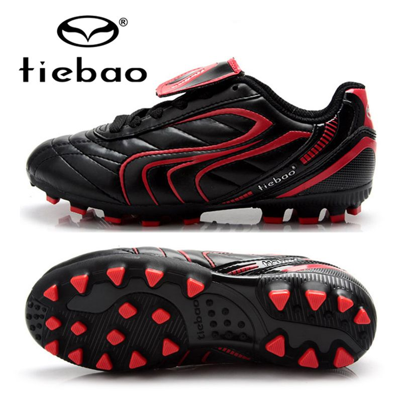 ebe398cb7 TIEBAO Professional Boys Girls Soccer Shoes Outdoor Sport National Flag Football  Boots Children Training Shoes AG Soles Sneakers   Price   US  25.04   FREE  ...