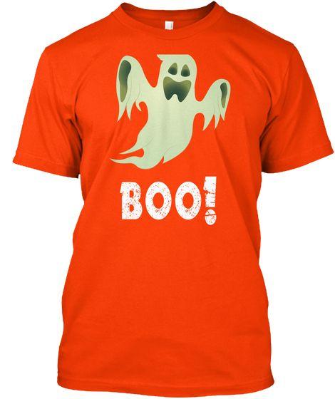 halloween boo funny t shirt