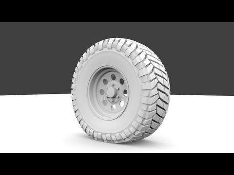 제작 과정 1 - 타이어 바퀴