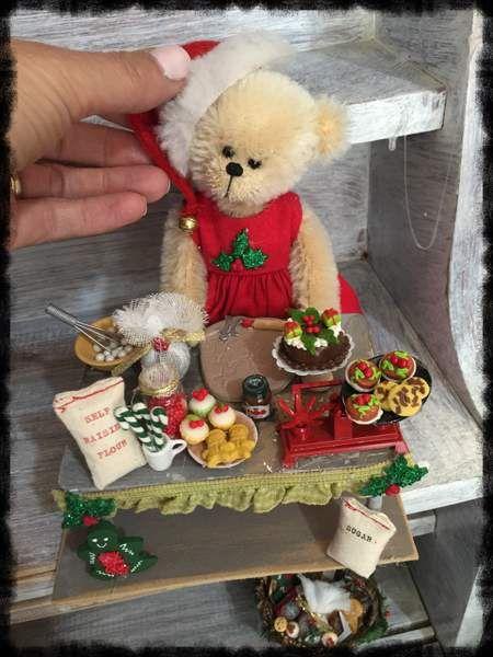 Xmas fun By Shaz bears - Bear Pile