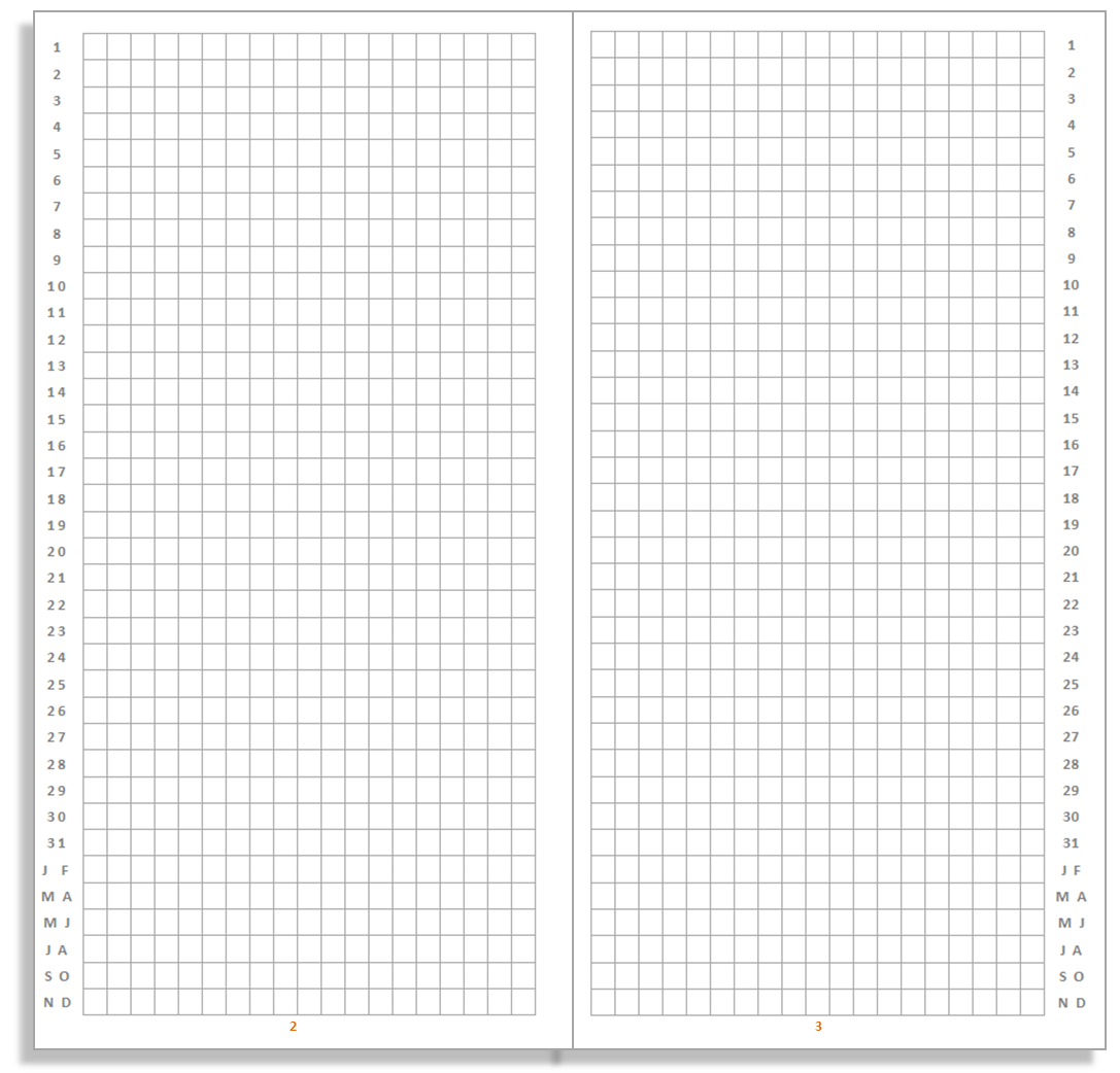 My Life All in One Place: Free Bullet Journal insert for