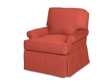 Vanguard Living Room Stewart Swivel Chair V1271D SW   Vanguard Furniture    Conover, NC