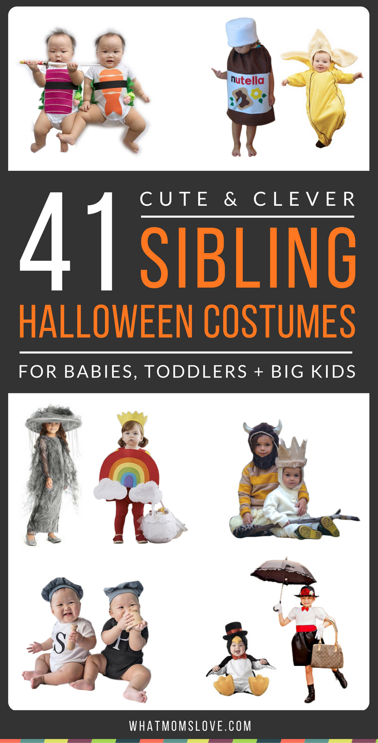 41 Cute Clever Halloween Costume Ideas For Siblings No Diy