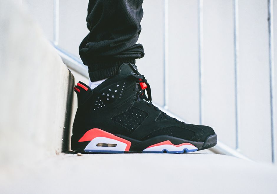 4046a2b6de1 An On Feet Look at the Air Jordan 6 Infrared, The Must Have Sneaker On Black  Friday