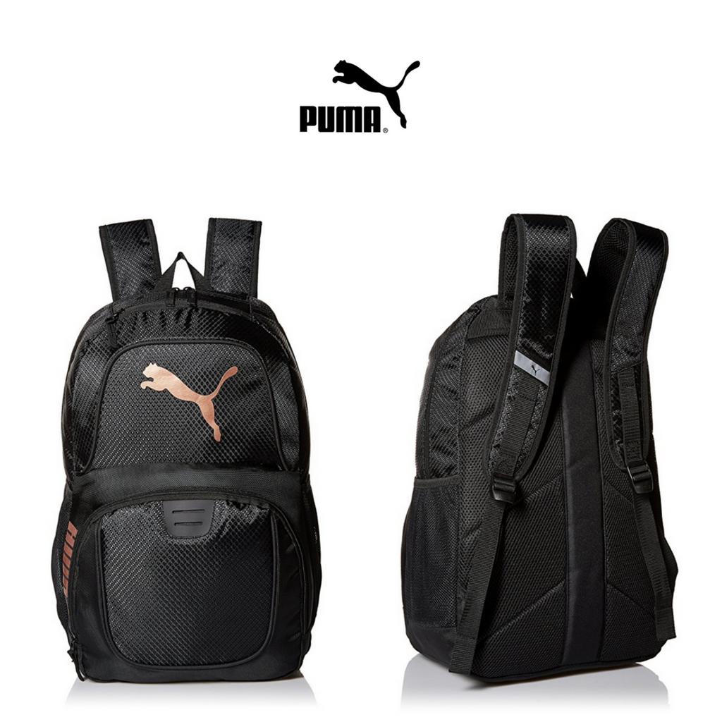mochila hombre puma negra
