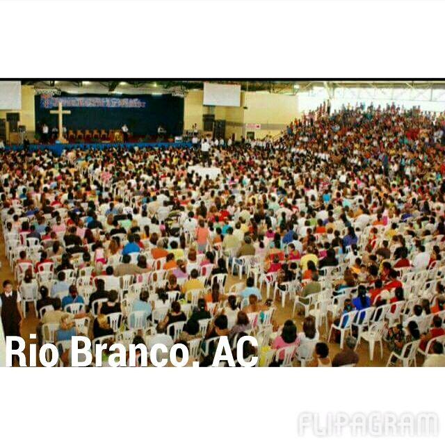Concentração de fé, realizada pelo bispo Macedo em Rio Branco, AC.  (null) Feito com o Flipagram - http://flipagram.com/f/bMT6Qofs7k