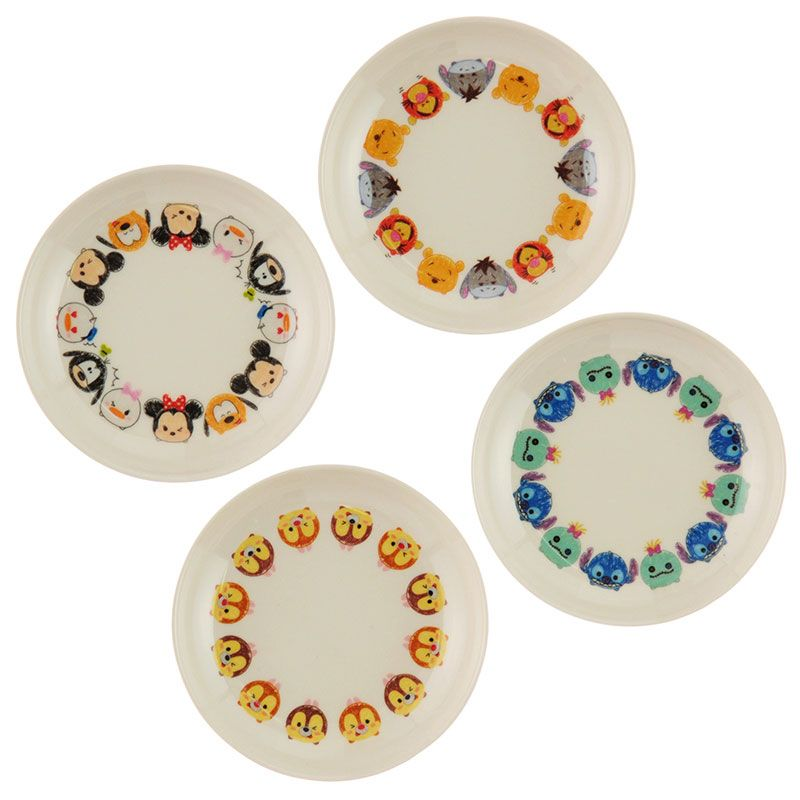 Disney Tsum Tsum Plate Set Disney Store Japan