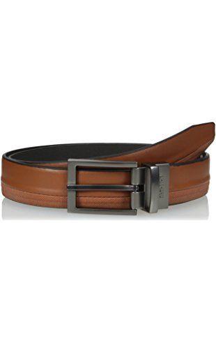 Kenneth Cole REACTION Men's Reversible Dress Belt, Tan/Black, 36 ❤ Kenneth Cole Reaction Men's Accessories