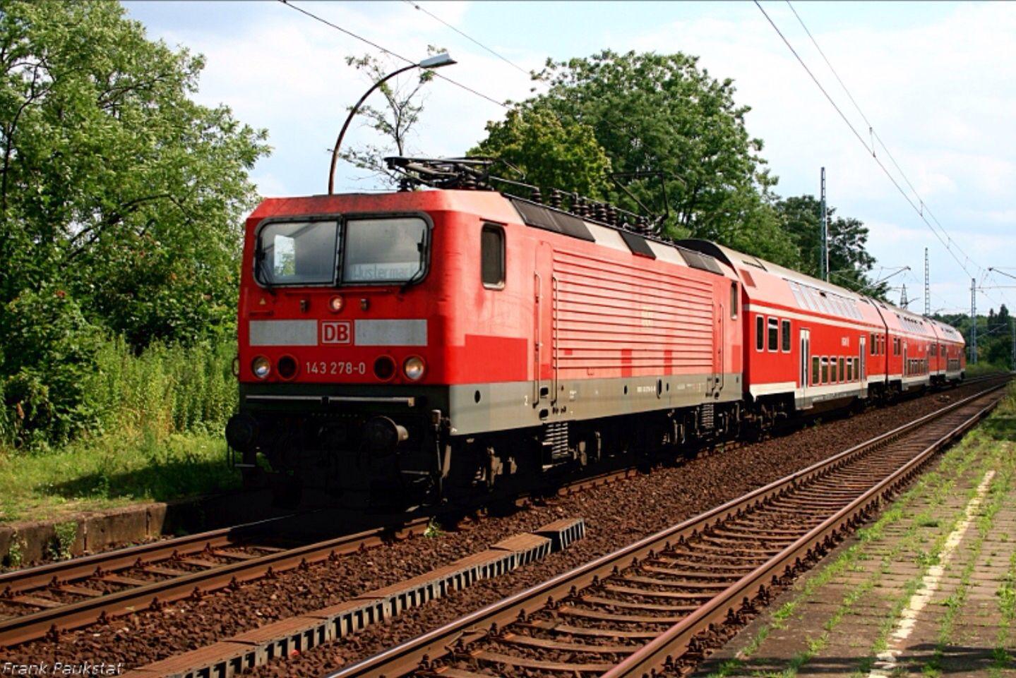 DB 143 2780 mit RB21 Wustermark (DB Regio AG RL Südost