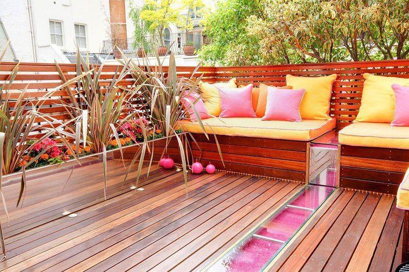 Cómo Crear Una Terraza De Verano En Un Balcón De La Ciudad Ideas Hermosas Y Prácticas Muebles De Exterior De Paleta Diseño De Balcón Salón Al Aire Libre